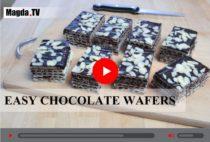 Chocolate wafers_videorecipe