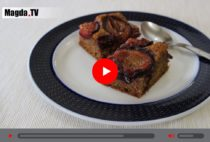Healthy Whole Wheat Plum Cake
